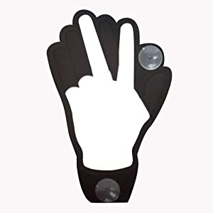 The Hand With Remote Animate Vehicle Window Sign