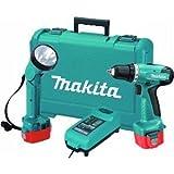 Makita 6271 DWPLE 12 Volt Cordless Drill Driver & Torch 2 x 1.3Ah NiCD