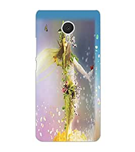 MEIZU M3 NOTE NATURE GIRL Back Cover by PRINTSWAG