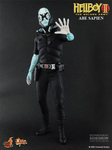 "Buy Low Price Mezco Hellboy 2 and the Golden Army- Abe Sapien ""7"" Inch Figure-includes B.p.r.d Scanner (B0050MXGOK)"