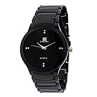 Iik Collection Analogue Black Dial Watch for Men- IIK034M