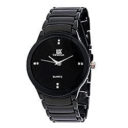 Iik Collection Analogue Black Dial Men's Watch- IIK034M