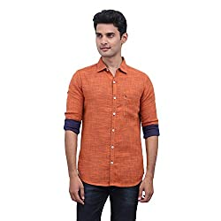 urbantouch orange double layer shirt