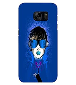 PrintDhaba Face D-3966 Back Case Cover for SAMSUNG GALAXY S7 (Multi-Coloured)