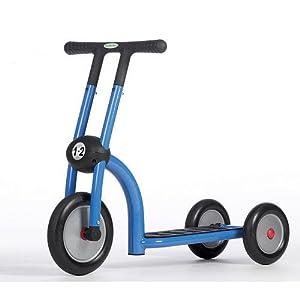 Trottinette 3 roues 1 2 ans bleu jouet jeux for Jouet exterieur 2 ans