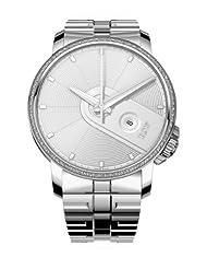 RSW Women's 6340.BS.S0.5.D1 Armonia Diamond Stainless-Steel Bracelet Date Watch