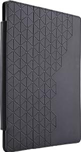 Case Logic iFOL-301 Purple Hard Shell Polycarbonate Folio for iPad 2/3 and 4th Generation, Black
