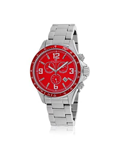 Oceanaut Men's OC3322 Baltica Red Stainless Steel Watch