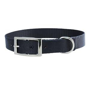 Dog Collar Nylon Premium Collar. Stainless Steel Buckle