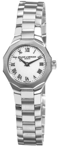 Baume & Mercier Women'S 8761 Riviera Xs Stainless-Steel White Dial Watch