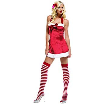 Santa's Little Helper Costume - X-Large - Dress Size 14-16