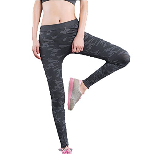 Nathan Ft Camouflage Women High Waist Fitness Flex Sport Tights Elastic Yoga Pants Active Stretch Outwork Leggings Winter