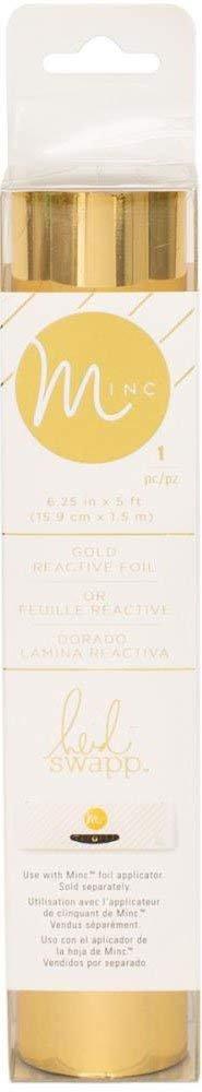 Heidi Swapp Minc Reactive Foil - Six 6.25 x 5' Rolls - Hot Pink, Light Pink, Mint, Teal, Gold, Purple