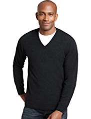 XS Cashmilon™ V-Neck Jumper