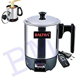 Multi Purpose Use BALTRA ELECTRIC KETTLE HEATING CUP KETTLE FOR Cooking And Travelling Use