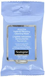Neutrogena All in One Make-Up Removing Cleansing Wipes, 7 Count