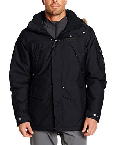 Columbia Chaqueta High Pass Gris Oscuro