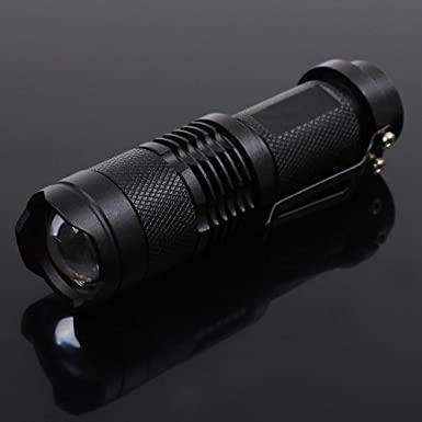 Cree 7W 300LM Mini LED Flashlight $3.55