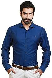 GOSWHIT Men's Casual Shirt - L