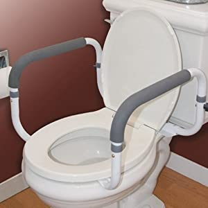 Carex Health Brands Toilet Support Rail Health Personal Care