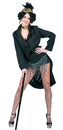 Funny Fashions Womens Broadway Jacket Flapper Fancy Halloween Themed Costume