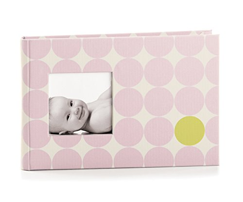 Pearhead Modern Dots Bragbook, Pink