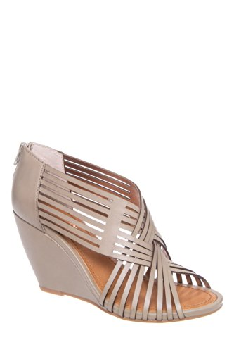 Get To Know Me Strappy Wedge Sandal