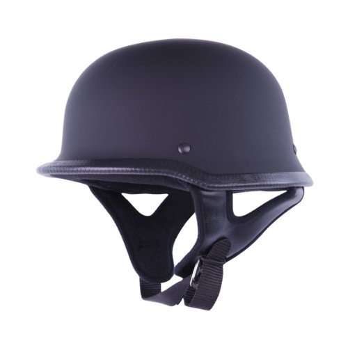 HCI-115 Half Helmet German-Matt Black (XX-Large)