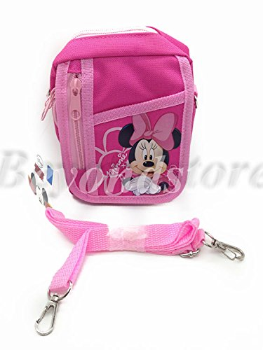 NEW Disney Minnie Pink Camera Bag Case Red Bag Handbag
