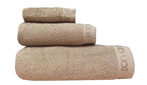 Asciugamano Lisa da, 30x 50cm, Visone)