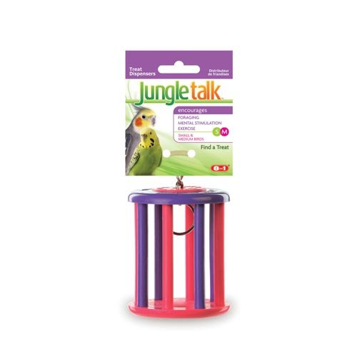 Image of United Pet Jungle Talk Find A Treat for Small and Medium Birds - Part #: JT 3040 (JT 3040)