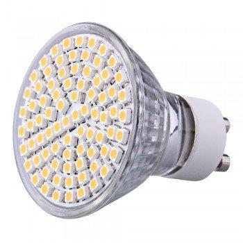 Gu10 Warm White 80 Smd Led Spot Lamp Bulb 230V 4W