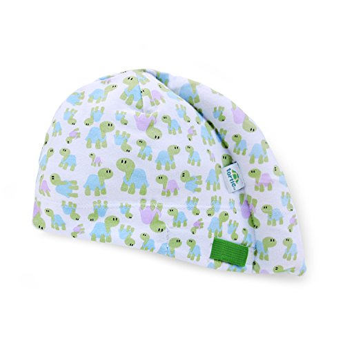 Tortle Newborn Hat, Adjustable Head Support Prevents Flat Head, FDA Cleared, Neck Positioner, Turtles, Small