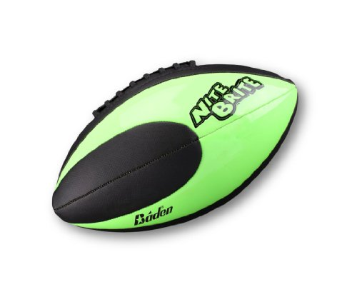 Baden Nite Brite Junior Size 6 Glow in the Dark Football (Nite Brite Football compare prices)