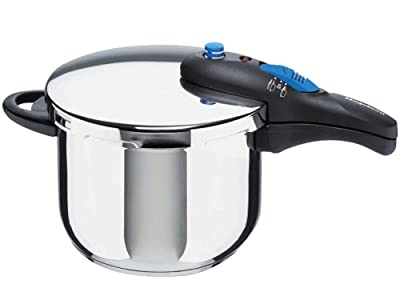 Magefesa Mageplus Stainless Steel 6.5 Quart Super Fast Pressure Cooker from Magefesa