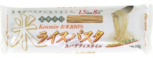 ケンミン ライスパスタ スパゲティスタイル 250g