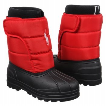Polo Ralph Lauren Junior Boots Winter Games EZ Size 5 M US Big Kid