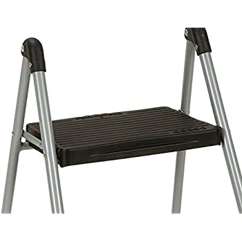 Cosco Dorel Industries Lightweight Folding Steel Step Stool, Two Step