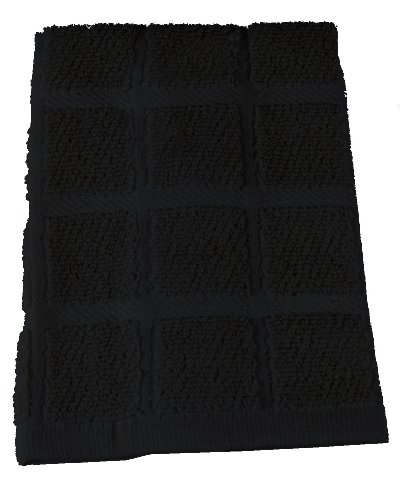 Bistro Kitchen Ensemble - Black, Dish Cloth