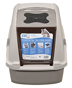 Catit Hooded Cat Litter Pan Kit