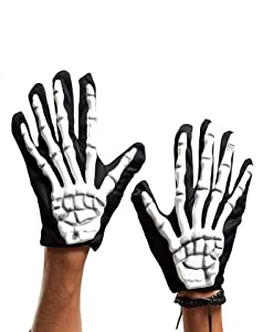 Holiday Times Unlimited Inc Women's Skeleton Glove Black/White One Size