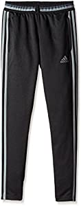adidas Performance Youth Condivo 16 Training Pants, Black/Gray, X-Large