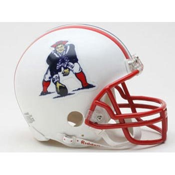 Riddell New England Patriots Mini Replica Throwback Helmet