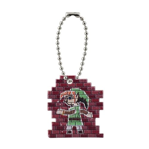 Bandai The Legend of Zelda Mascot Swing Figure Strap Wall Link - 1