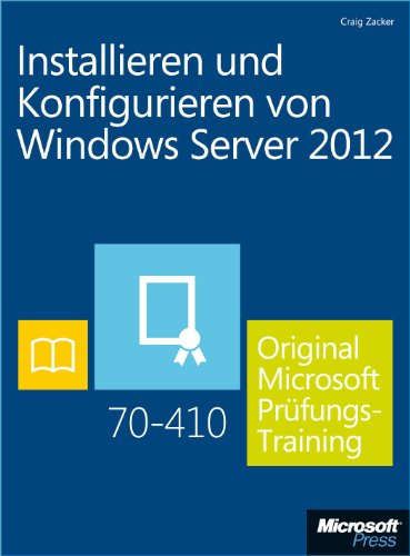 Von windows server 2012 original microsoft pr 252 fungstraining 70 410