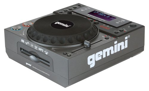 Best Price GEMINI CDJ-600 Professional Tabletop CD/MP3/USB Player with Scratch