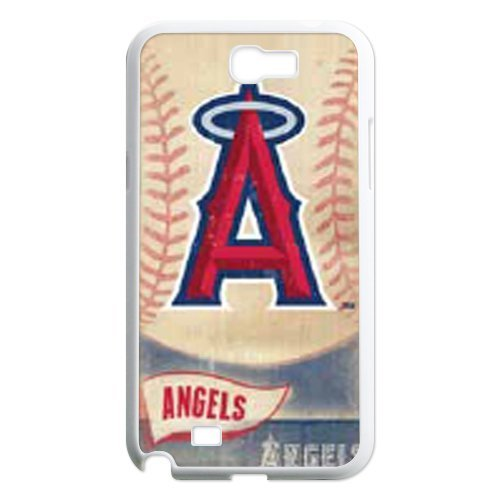 Generic Cell Phone Cases Cover For Samsung Galaxy Note 2 Case N7100 Fashionable Designed With Baseball Team Los Angeles Angels Background Personalized Case