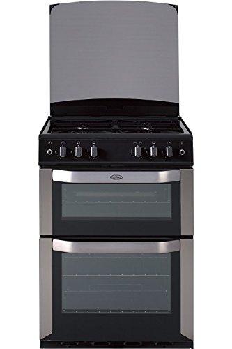 Belling FSG60DO 60cm Double Oven Gas Cooker - Black