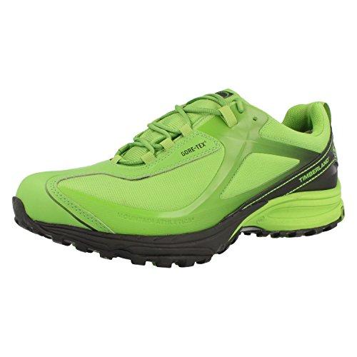 Timberland - Scarpe da corsa da uomo, colore: verde, verde (Verde), 41.5