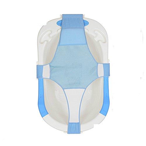 your supermart baby bath mesh seat support sling net infant bath tub hammock pink dealtrend. Black Bedroom Furniture Sets. Home Design Ideas